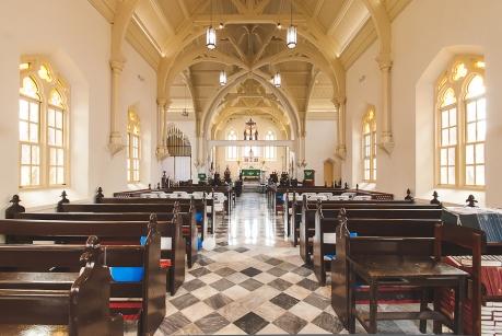 Cristo a Orillas del Mar, Colón, Arq. J.Arosemena