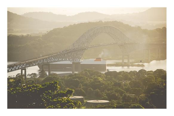Panama Canal, Puente de las Américas