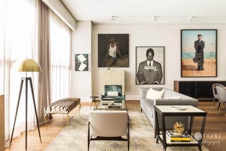 Apartment in Santa Maria, Panama, 2017   Design: Jennifer Chused, NYC